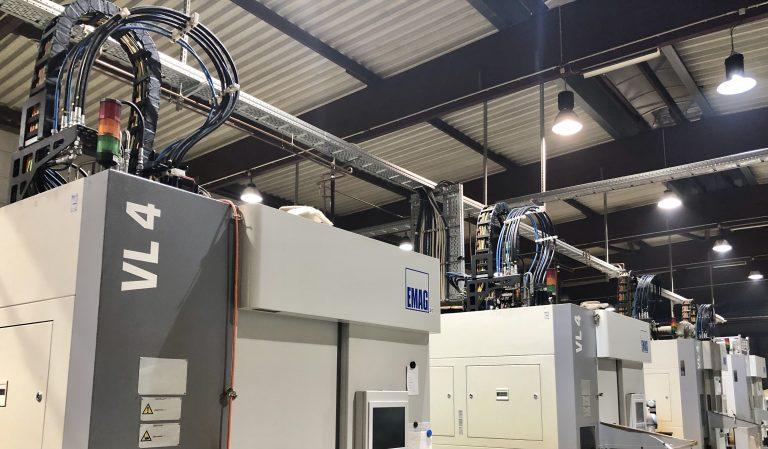 Werkzeugmaschine drehen Werkstück Metall EMAG